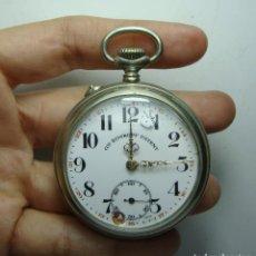 Relojes de bolsillo: RELOJ DE BOLSILLO. CARGA MANUAL. ROSKOPF. ESFERA ESMALTADA. AGUJAS DE ORO.. Lote 248273675