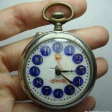 Relojes de bolsillo: RELOJ DE BOLSILLO. CARGA MANUAL. SISTEMA ROSKOPF. HERCULES.. Lote 248290205