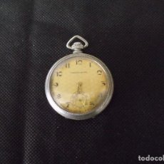Relógios de bolso: 1 CRONOMETRE ART-DECO AÑO 1920- EN NICKEL- FUNCIONA - LOTE 259-14. Lote 248576340