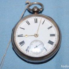 Relojes de bolsillo: REJOJ SEMICATALINO EN PLATA. Lote 248748630