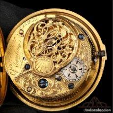 Relojes de bolsillo: ANTIGUO RELOJ DE BOLSILLO OTOMANO. CATALINO. GEORGE PRIOR. LONDRES, CIRCA 1775. Lote 250214260
