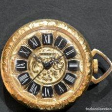 Relojes de bolsillo: RELOJ DE BOLSILLO SUIZO SABONETA MARCA MULTY INCLUYE LEONTINA AUTOMÁTICO Y CARGA MANUAL. Lote 250276230