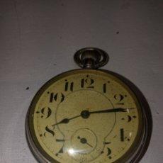 Relojes de bolsillo: ANTIGUO RELOJ BOLSILLO DESCONOZCO MARCA FUNCIONANDO. Lote 251064825