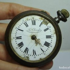 Relojes de bolsillo: ANTIGUO RELOJ DE BOLSILLO. CARGA MANUAL. CAJA DE HIERRO. LA CHARRIERE.. Lote 251330700
