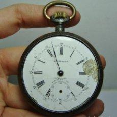 Relojes de bolsillo: ANTIGUO RELOJ DE BOLSILLO. CARGA MANUAL. PAUL JEANNOT.. Lote 251332210