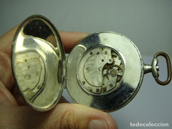Relojes de bolsillo: Antiguo Reloj de Bolsillo. Carga Manual. Barcelona. - Foto 4 - 251342085