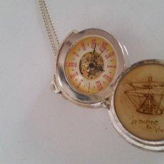 Relojes de bolsillo: PARA COLECION MAGNIFICO RELOG ESQUELETO CARGA MANUAL .LE ONARDO DA VINK FONCION PERFECTO. Lote 251347645