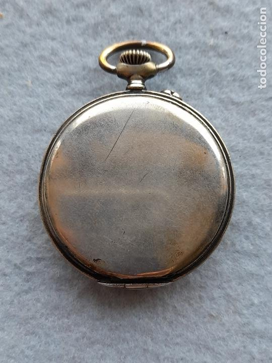 Relojes de bolsillo: Reloj de Bolsillo marca A. Poulain Dinan - Foto 2 - 252815095