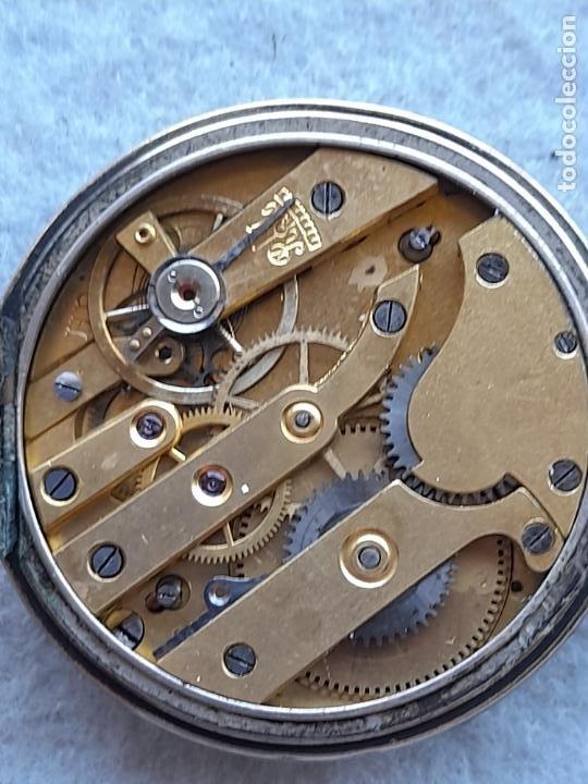 Relojes de bolsillo: Reloj de Bolsillo marca A. Poulain Dinan - Foto 5 - 252815095