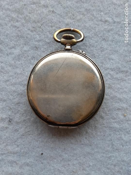 Relojes de bolsillo: Reloj de Bolsillo marca A. Poulain Dinan - Foto 6 - 252815095