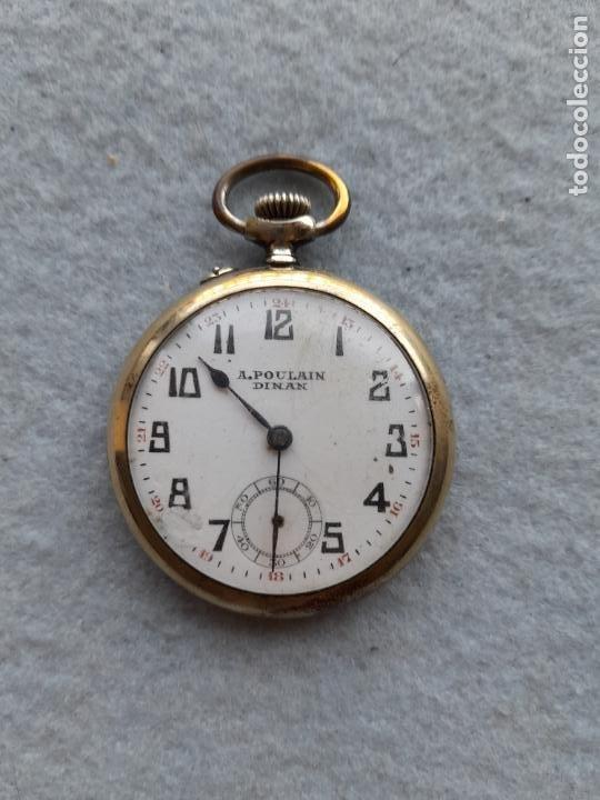 RELOJ DE BOLSILLO MARCA A. POULAIN DINAN (Relojes - Bolsillo Carga Manual)
