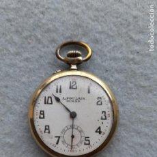 Relojes de bolsillo: RELOJ DE BOLSILLO MARCA A. POULAIN DINAN. Lote 252815095