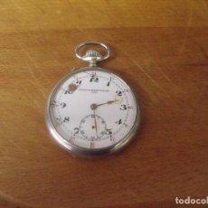 Relojes de bolsillo: ANTIGUO RELOJ BOLSILLO EN ARGENTAN -AÑO 1900- FUNCIONA LOTE 259-17. Lote 252954055
