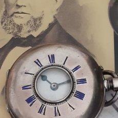 Relojes de bolsillo: RELOJ DE BOLSILLO ROSKOPF PATENT CAZADOR PLATA 52 MM.. Lote 253159980