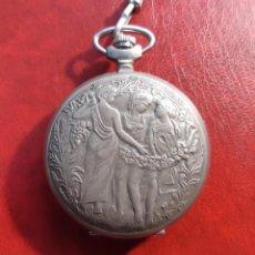 Relojes de bolsillo: RELOJ BOLSILLO MOLNIJA CON NINFAS.. Lote 253350410
