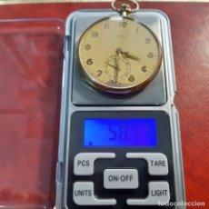 Relojes de bolsillo: RELOJ DE BOLSILLO DOXA DE ORO. Lote 253351460
