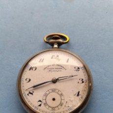 Relojes de bolsillo: RELOJ DE BOLSILLO CHRONO LE CHEMINOT. ALFRED MAGNIN. BESANCON. Lote 253874715