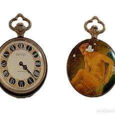 Relojes de bolsillo: RELOJ DE BOLSILLO THERMIDOR ANTICHOC ESCUDO SUIZO M.S.XX. Lote 254141905