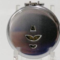 Relojes de bolsillo: RELOJ DE BOLSILLO ACERO DIGITAL CON SEGUNDERO, ART DECCO, DIAMETRO 48 MM, FUNCIONA, NO TIENE MARCA. Lote 287953588