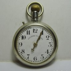 Relojes de bolsillo: RELOJ DE BOLSILLO. CARGA MANUAL. ROSKPF. FUNCIONA. (56 MM). Lote 254493555