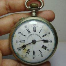 Relojes de bolsillo: RELOJ DE BOLSILLO. CARGA MANUAL. SYSTEME ROSKOPF. ARGENTAM. FUNCIONA.. Lote 254525395