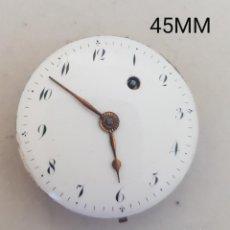 Relojes de bolsillo: MAQUINA CATALINO FUSEE RELOJ BOLSILLO CON ESFERA ANDA Y PARA. Lote 254686430