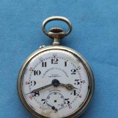 Orologi da taschino: RELOJ DE BOLSILLO ANTIGUO MARCA A. ROSKOPF & CIE PATENT. Lote 255437830