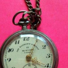 Relojes de bolsillo: RELOJ DE BOLSILLO GRE ROSKOPF PATENT 1ª 12 RUBIS - MIRANDA - VER FOTOS - FUNCIONA. Lote 255596040