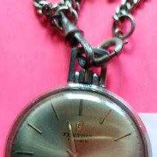 Relógios de bolso: RELOJ DE BOLSILLO FESTINA 17 RUBIS - INCABLOC - VER FOTOS - FUNCIONA. Lote 255597590