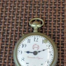 Relojes de bolsillo: ROSKOPF METO CRONOMETRO ORIGINAL. Lote 256001125