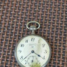 Relojes de bolsillo: ELEGANCIA 1 PLATA DECORADO Y LABRADO CON IMAGEN DE UNA MUJER. Lote 256002190