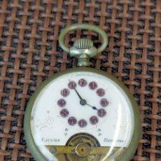 Relojes de bolsillo: RELOJ HEBDOMAS 8 JOURS COMPLETO. Lote 256006925