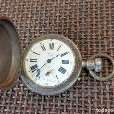 Relojes de bolsillo: RELOJ DE BOLSILLO PAUL BOCH GENEVE 4 TAPAS EN PLATA. Lote 256011855