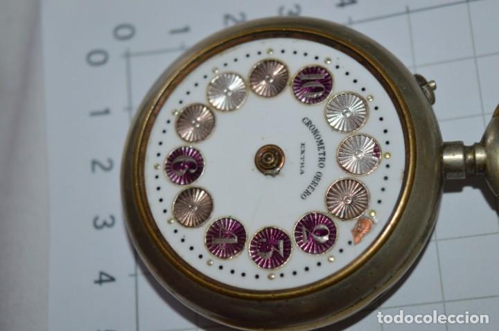 Relojes de bolsillo: Vintage / CRONÓMETRO OBRERO / Caja de 52,30 mm / Esfera de porcelana / Carga manual ¡Mira funciona! - Foto 7 - 256155575