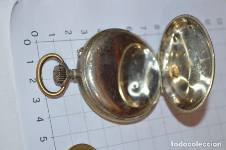 Relojes de bolsillo: Vintage / CRONÓMETRO OBRERO / Caja de 52,30 mm / Esfera de porcelana / Carga manual ¡Mira funciona! - Foto 8 - 256155575