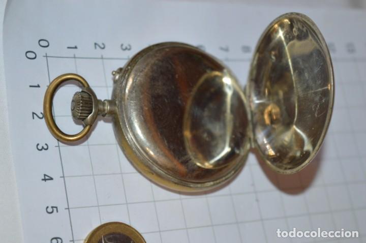 Relojes de bolsillo: Vintage / CRONÓMETRO OBRERO / Caja de 52,30 mm / Esfera de porcelana / Carga manual ¡Mira funciona! - Foto 9 - 256155575