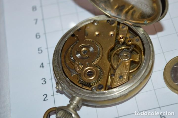 Relojes de bolsillo: Vintage / CRONÓMETRO OBRERO / Caja de 52,30 mm / Esfera de porcelana / Carga manual ¡Mira funciona! - Foto 12 - 256155575