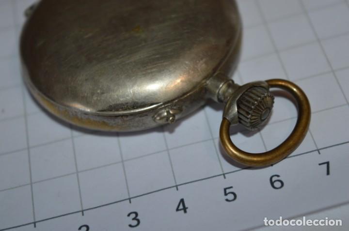 Relojes de bolsillo: Vintage / CRONÓMETRO OBRERO / Caja de 52,30 mm / Esfera de porcelana / Carga manual ¡Mira funciona! - Foto 14 - 256155575