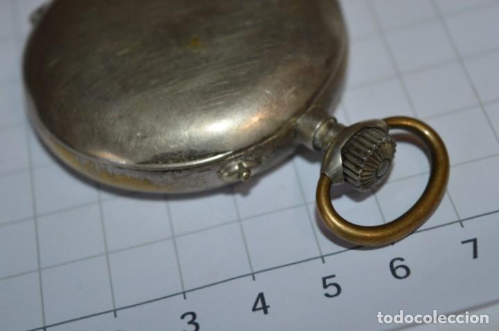 Relojes de bolsillo: Vintage / CRONÓMETRO OBRERO / Caja de 52,30 mm / Esfera de porcelana / Carga manual ¡Mira funciona! - Foto 15 - 256155575