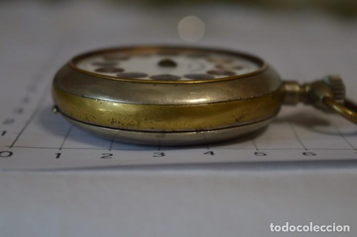 Relojes de bolsillo: Vintage / CRONÓMETRO OBRERO / Caja de 52,30 mm / Esfera de porcelana / Carga manual ¡Mira funciona! - Foto 16 - 256155575