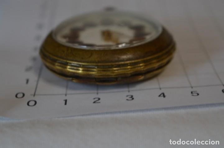 Relojes de bolsillo: Vintage / FARO / Caja de 47,40 mm / Esfera de porcelana/esmalte / Carga manual ¡Mira funciona! - Foto 11 - 256159455