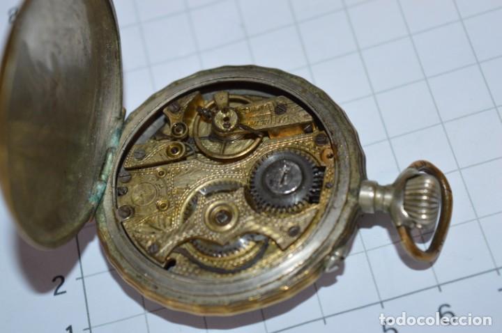 Relojes de bolsillo: Vintage / FARO / Caja de 47,40 mm / Esfera de porcelana/esmalte / Carga manual ¡Mira funciona! - Foto 14 - 256159455