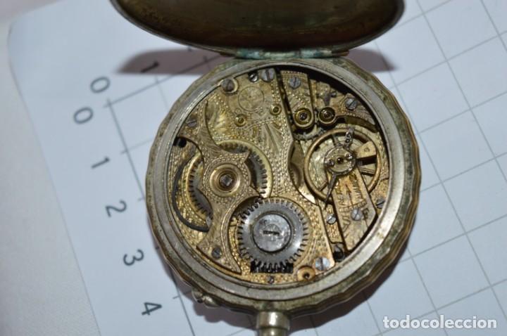 Relojes de bolsillo: Vintage / FARO / Caja de 47,40 mm / Esfera de porcelana/esmalte / Carga manual ¡Mira funciona! - Foto 15 - 256159455