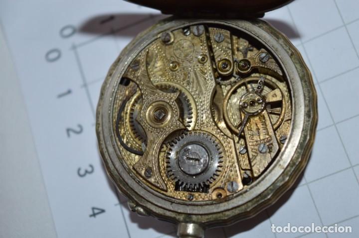 Relojes de bolsillo: Vintage / FARO / Caja de 47,40 mm / Esfera de porcelana/esmalte / Carga manual ¡Mira funciona! - Foto 16 - 256159455