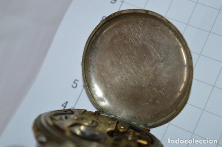 Relojes de bolsillo: Vintage / FARO / Caja de 47,40 mm / Esfera de porcelana/esmalte / Carga manual ¡Mira funciona! - Foto 17 - 256159455