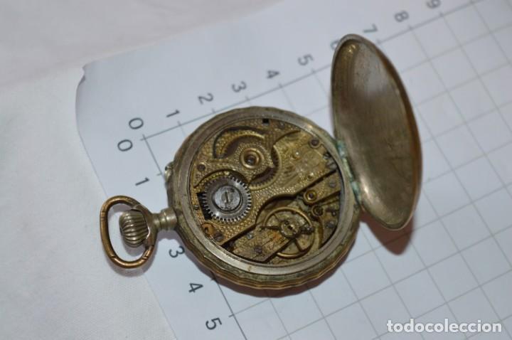 Relojes de bolsillo: Vintage / FARO / Caja de 47,40 mm / Esfera de porcelana/esmalte / Carga manual ¡Mira funciona! - Foto 18 - 256159455