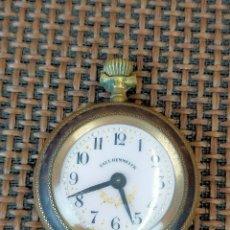 Relojes de bolsillo: RELOJ BOLSILLO PAUL HEMMELER DECO ORO. Lote 257274625