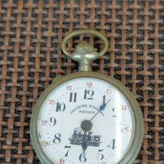 Relojes de bolsillo: RELOJ SYSTEM ROSKOPF PATENT FERROVIARIO FUNCIONANDO CORRECTAMENTE. Lote 257449840