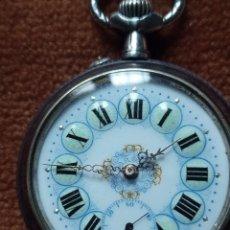 Relojes de bolsillo: ANTIGUO RELOJ DE BOLSILLO, FUNCIONANDO. Lote 257480625