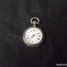 Relojes de bolsillo: ANTIGUO RELOJ BOLSILLO EN PLATA AÑO 1880 -- LOTE 259-20. Lote 257775340